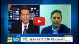 CNN Headline News<br /> Safe Holiday shopping tips with Paul Baeppler
